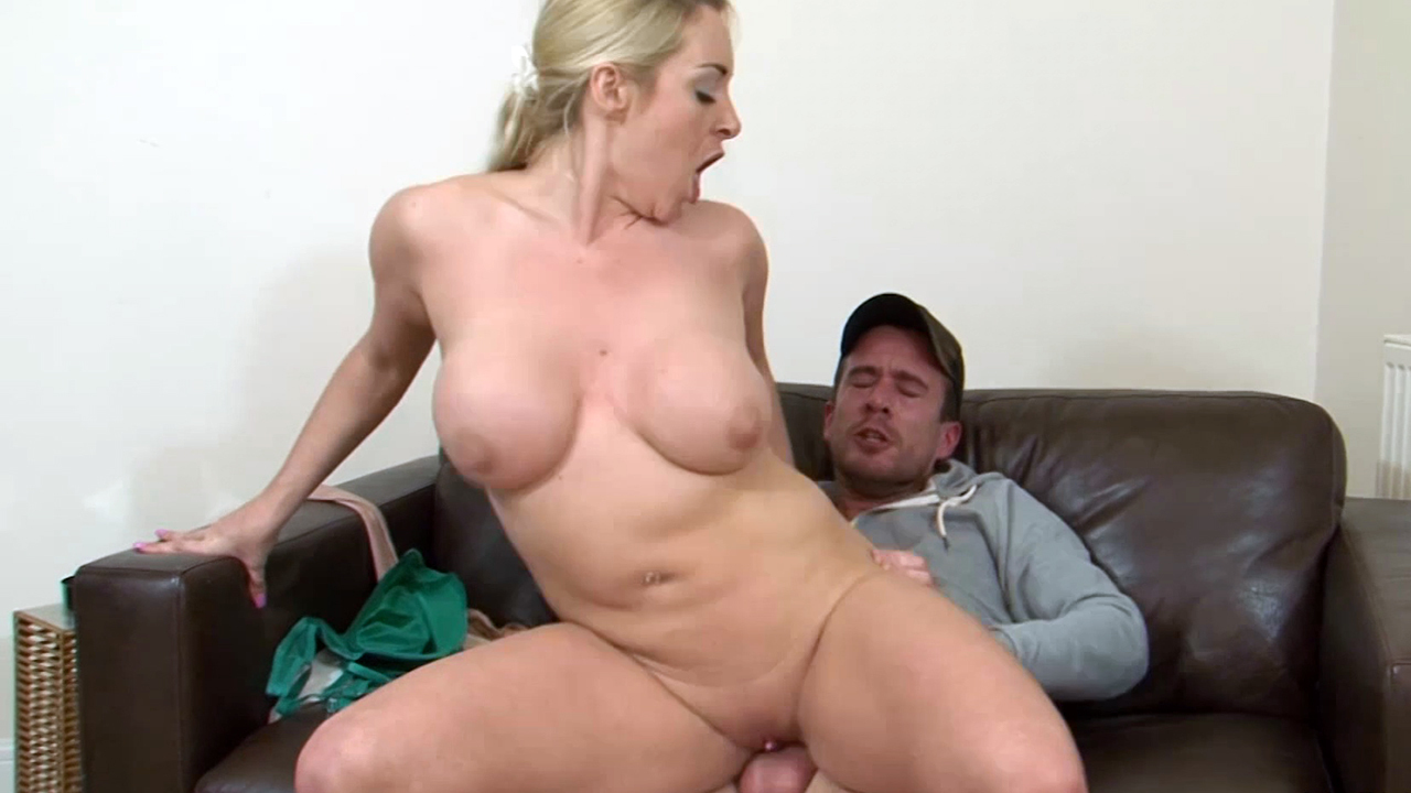 Milf Stepmom Fucks Step Son