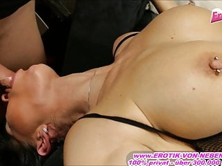 German mother first time headlong deepthroat