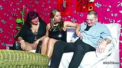 German Old Couple Seduce Girlfriend of not son to Fuck