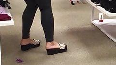 Asian Milf Feet Candid