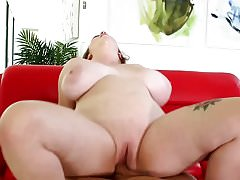 bbw goddess with lovely tits getting pounded and creampied