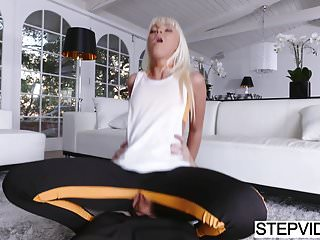 Preview 5 of Stepmom Marie Mccray seducing her stepson