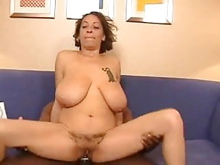 Light Skin Mature Carrying Big Titties And A Hairy Pussy