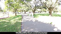 TheRealWorkout - Hot Workout T
