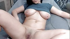 Chiling and masturbating fun