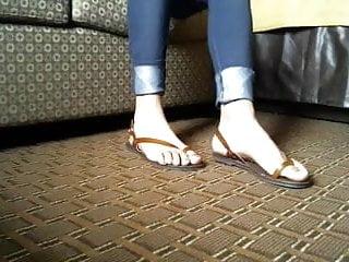 my new toeloop sandal make me horny
