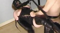 trying my new sex swing