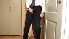Chef ist geil auf seine Transen-Sekretaerin