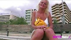 Blond und Geil auf Mallorca