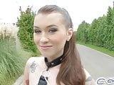 Cumforcover Misha Cross is drenched in cum