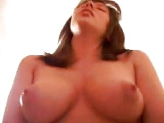Thick little hottie rides a dick