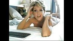 Stunning blonde mature on cam !!