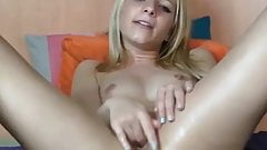 Hot Young Blond Babe Squirting On WebCam by FetishGreg88