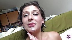 Ass Fucking And Facial For Tattooed Hottie