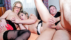 LETSDOEIT - Hot German Threeway - Geiler Dreier
