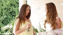 Hot lesbian lovemaking by Sapphic Erotica with Capri