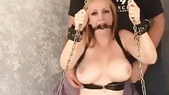 Nurse Joselyn bound tight and gagged