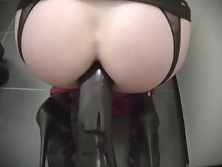 Suction cup dildo - anal play