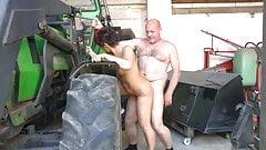 Der Bauer vor der Ernte