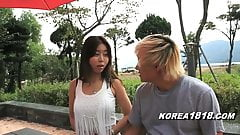 KOREA1818.COM - Horny Korean Babe Outside