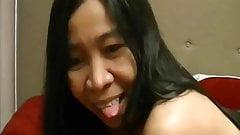 Filipina Gina Jones Loves Oral Cumshots