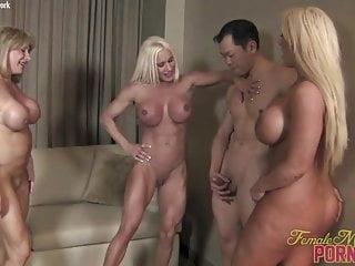 Really. Bodybuilder female porn stars will