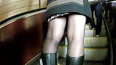 black pantyhose in metro