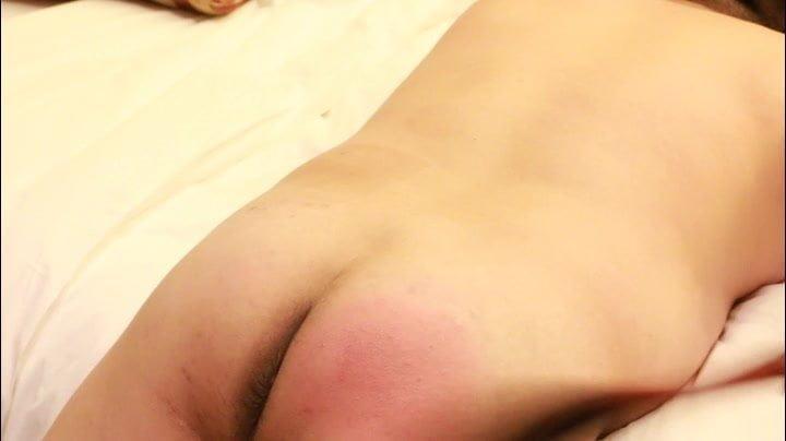Chinese language anal slave self spanking half 2