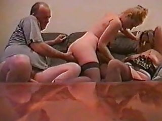 UK amateur Kelly and a married couple 3some