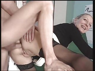 French Granny Likes Her Anal