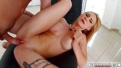 Allinternal Helena Valentine gets a pussy creampie
