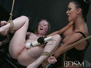 BDSM XXX Innocent girl finds herself defenceless