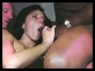 Nikita Bellucci Gets Double Anal in Gangbang