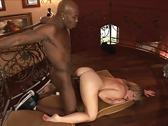 Deep BBC Anal With Horny MILF
