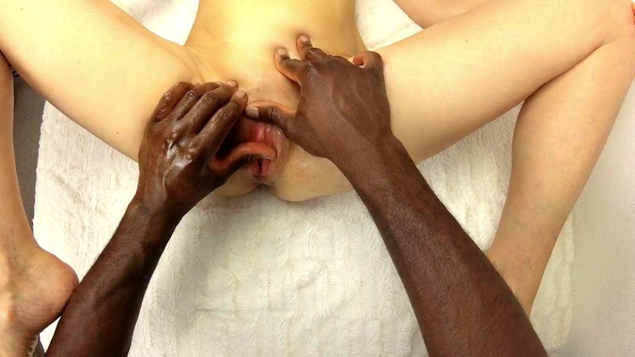 Erotic massage and orgasm