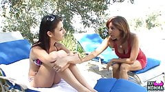 SEXYMOMMA - Tara Holiday does 69 with her hot stepdaughter