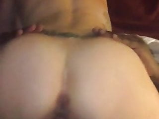 White Wife Rides my BBC...husband films