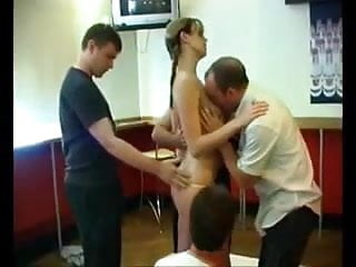 Teen gangbang photos - Teen gangbang in a bar