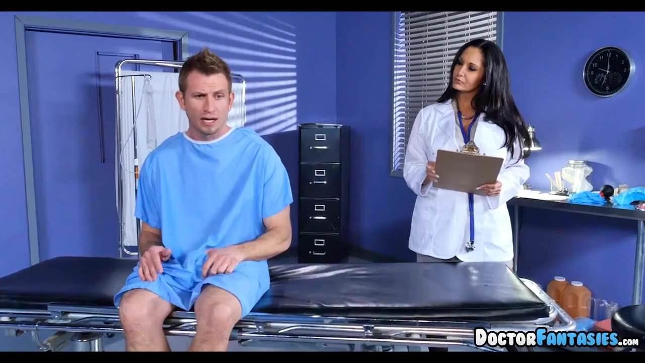 Hot MILF Doctor fixes his Dick