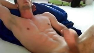 College Boy shoots for webcam