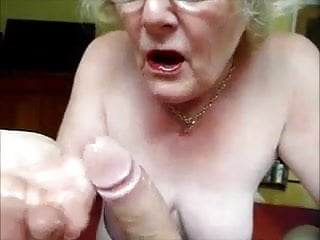 Granny Making A Perfect Blowjob
