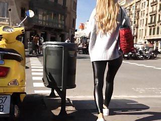 Smartphone voyeur candid outdoor