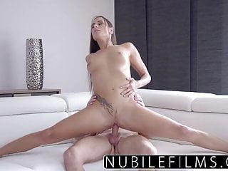 Nubilefilms Hardcore Creampie For College Babe