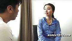 KOREA1818.COM - Korean MILF Jogger Seduced!