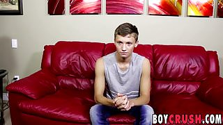 Lusty Matthew Cole was waiting all day to wank his boner