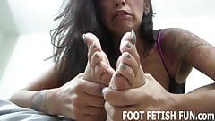 Are my bare feet exciting you's Thumb
