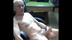 skinny old man
