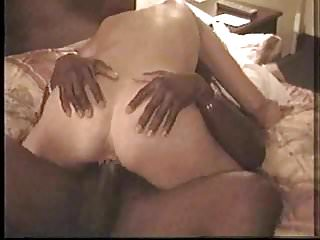 Sexy blonde milf gets good fucking by black in hotel
