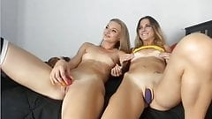 Slim muscular teen lesbians small tits tight cameltoe pussys's Thumb