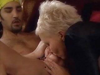 Pierced blonde taking cock in her pierced pussy